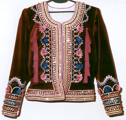 jacket (katanka) for married woman -