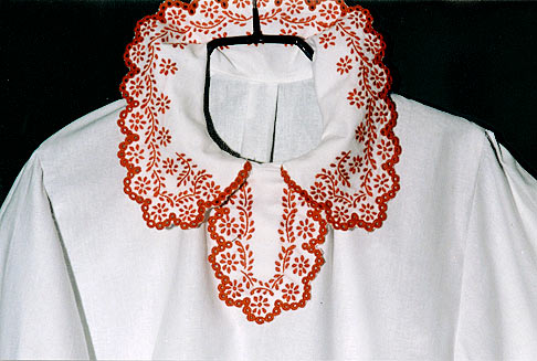 woman's blouse - close-up