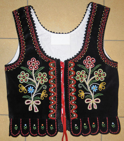 vest from Podegrodzie