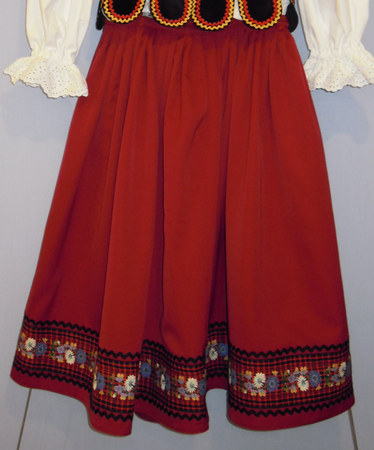 simplified Piotrkow skirt